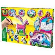 SES Casting ein Gemälde von Pferden - Kreativset