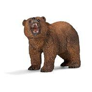 Schleich zvířátko – medvěd Grizzly - Figurka