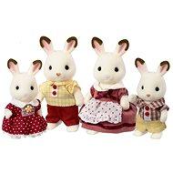 Sylvanian Families Rodina chocolate králikov - Figúrky
