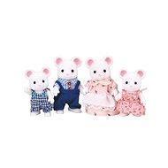 Sylvanian Families Rodina bílých myšek - Figurky