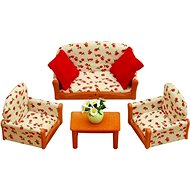 Sylvanian Families Nábytek – sedací souprava se stolečkem - Herní set