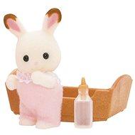 Sylvanian Families Baby chocolate králík - Figurky