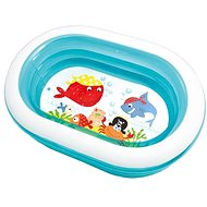 Oval inflatable swimming pool - Pool