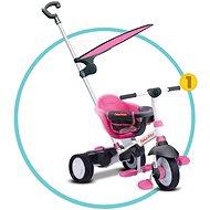 Fisher-Price Smart Trike Charm Plus růžová 3v1 - Tříkolka