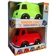 Pilsan Autíčko Tonton 2ks červené a zelené - Sada autíček