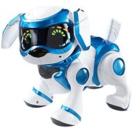 Cobi Teksta robotic puppy voice-controlled - blue - Interactive Toy