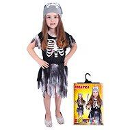 Rappa Pirátka skeletonka, vel. S - Dětský kostým