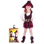 Rappa Pirátka, klobouk, boty, vel. S - Dětský kostým