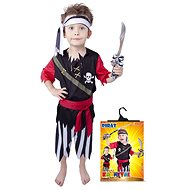 Rappa Pirate with velvet cap M - Kids' Costume