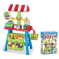 Rappa Geschäft / Verkaufsstand mit Zubehör - Spielzeug