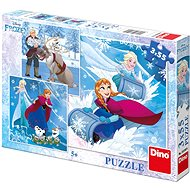 Dino gefroren: Winter Fun - Puzzle