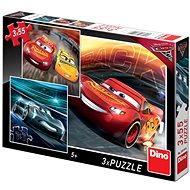 Dino Cars 3: Trénink - Puzzle