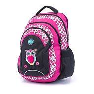 Karton P + P Oxy Fashion Pink Owl - Rucksack