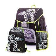 Karton P+P Premium ROBOT (batoh+penál+sáček) - Set