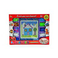 Teddies Zažehlovací mozaika - Kreativní hračka