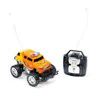 Teddies Monster Truck oranžový - Auto na diaľkové ovládanie