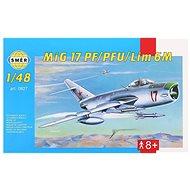 Směr Model Kit 0827 letadlo – MIG 17 PF/PFU/lim 6M - Plastový model