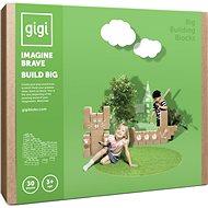 Gigi bloks velké kartonové kostky XL 30 ks - Stavebnice