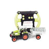 Tronico RC Traktor s prívesom Micro Claas Axion 850 - Stavebnica