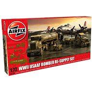 Airfix Model Kit A06304 diorama – USAFF 8th Airforce Bomber Resupply Set - Plastový model