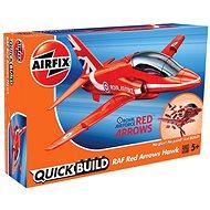 Airfix Quick Bulid J6018 letadlo – Red Arrows Hawk - Plastový model