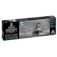 Italeri World of Warships 46501 - German Battleship Bismarck - Plastic Model
