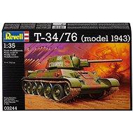 Revell Model Kit 03244 tank – T-34/76 - Plastový model