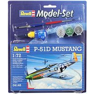 Revell Model Set 64148 letadlo – P-51D Mustang - Plastový model