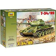 Zvezda Model Kit Z3533 tank – T-34/85 Soviet Tank - Plastový model