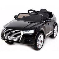 Audi Q7 lakované černé - Elektrické auto