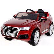 Audi Q7 lakované červené - Elektrické auto