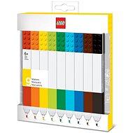 LEGO Highlighters Farben 9 Stück mischen - Markierstift