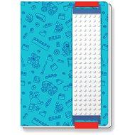 LEGO Briefpapier Blau Notebook - Notizbuch