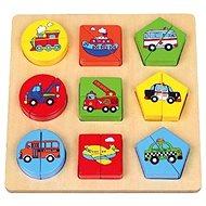 Puzzle dopravní prostředky - Puzzle