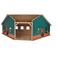 Mikro Trading Kids Globe Garáž/farma - Dřevěný model