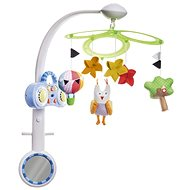 Taf Toys Kolotoč Sova s MP3 přehrávačem - Hračka na postýlku