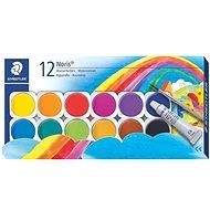 Staedtler Vodové barvy Noris Club 12 ks - Sada kancelářských potřeb