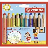 Stabilo Woody 10 barev - Sada kancelářských potřeb