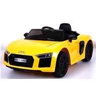 Audi R8 Spyder – žluté - Elektrické auto