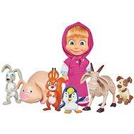 Simba Máša a medvěd Máša a její zvířecí kamarádi - Puppe