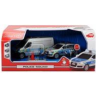Dickie Policejní oddíl - Sada autíček