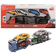 Dickie Autotransportér + 4 autíčka - Sada autíček