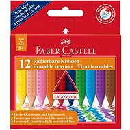 Faber-Castell Pastelky Plastic Colour Grip, 12 Barev - Pastelky