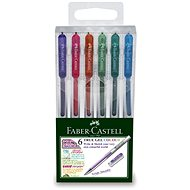 Faber-Castell True Gel Colour 0,7 Mm, 6 Barev - Kugelschreiber