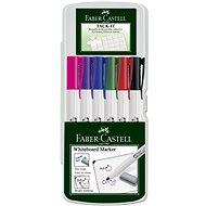 Faber-Castell Slim Whiteboard Marker, 6 ks - Popisovač