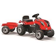 Šlapací traktor Rolly Kid s vlečkou - červený - Trettraktor
