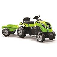 Šlapací traktor Rolly Kid s vlečkou - zelený - Trettraktor
