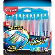 Maped Color Peps Long Life, 12 barev - Fixy