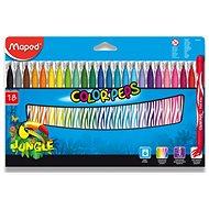 Maped Color Peps Jungle, 18 barev - Fixy