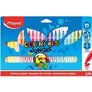 Maped Color Peps Jungle, 24 barev - Fixy